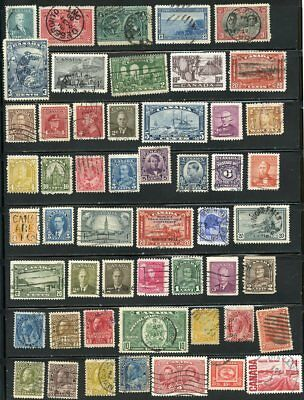 Canada Lot Of Old Used Stamps, Vg To Fine Condition, Lot 2