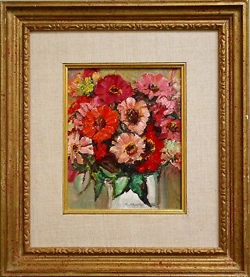 Frederick B Taylor Original Oil Still Life Painting Signed, Canadian listed, Art