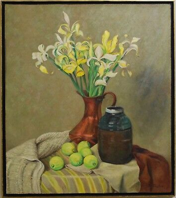 Frederick B Taylor Still Life, Oil Painting Signed, Canadian listed artist
