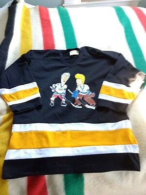 Vintage Beavis And Butthead Hockey Jersey Excellent One Size Fits all