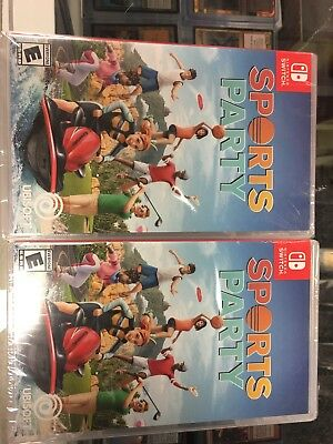Sports Party - Nintendo Switch Brand New Sealed