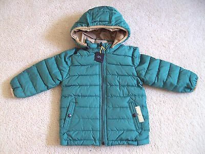 182ccc816438 NWT BABY GAP Boys Size 12 18 24 Months 2t 3t 4t Gray Warmest Jacket ...