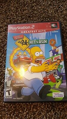 The Simpsons Hit & Run Complete Sony PlayStation 2 PS2
