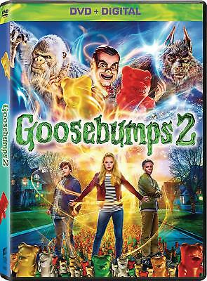 Goosebumps 2: Haunted Halloween Dvd | New | R.l. Stine | Horror