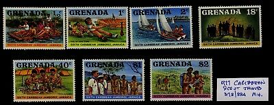 Grenada 1977 Caribbean Jamboree set - Mint