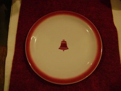 Rare Sterling Vitreous China Bell Telephone 6 1/2 Inch Lunch Plate Lamberton