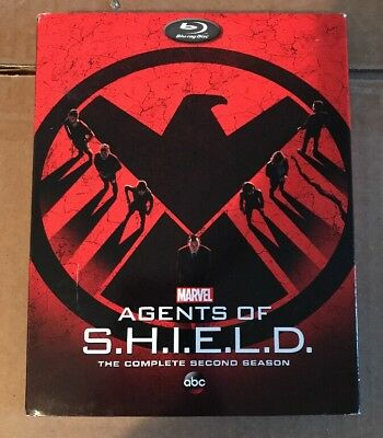 DVD Agents of Shield Season 2 (S.H.I.E.L.D. Second) NEW MINT SEALED