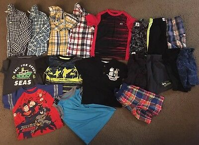 Boys Size 4T Spring/Summer Clothing Lot of 18 Pieces