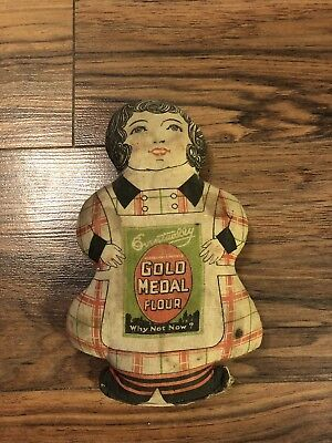 1930s Gold Medal Flour Cloth Advertising Doll