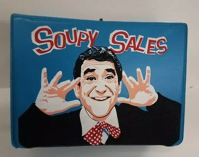 Soupy Sales Unused Vinyl Lunch box from 1965 C-9+ No Splits, Only one on Ebay