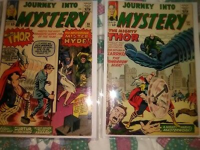 Journey into Mystery Thor lot G+ to F