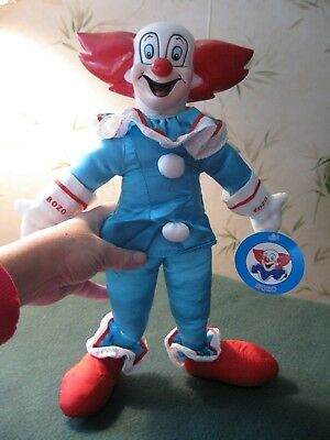 Bozo the Clown doll Play by Play 1994.  Tag still attached! Red nose. Red hair!