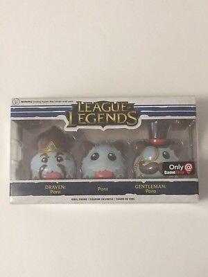 League Of Legends Gamestop Exclusive Funko Pop! 3 Pack