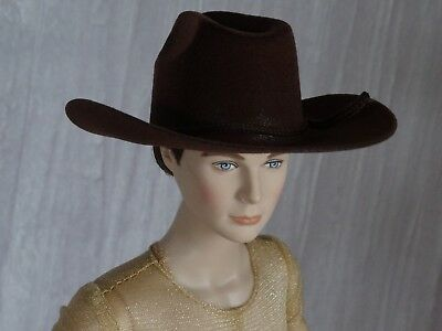 Allfordoll STYLE COWBOY Brown HAT for 17