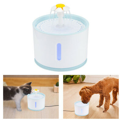 Cat Dog Pet Health Intelligent Smart Water Drinking Fountain 2.4L Clean Water
