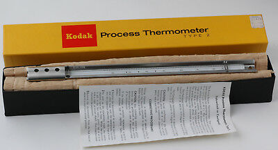 Kodak Process Thermometer Type 2 Excellent Condition - No Reserve