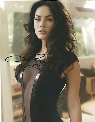 Megan Fox In-Person Hand Signed Autographed Photo