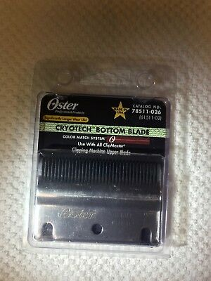 New Oster Clipmaster Cryotech bottom blade