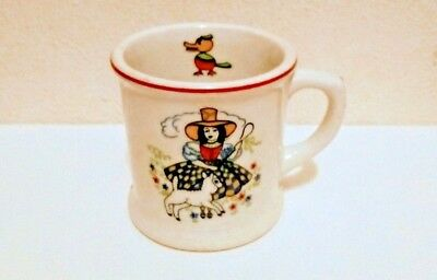 SHENANGO China child's LITTLE BO PEEP MUG