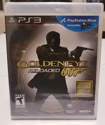 GoldenEye 007: Reloaded (Sony PlayStation 3, 2011) - Used