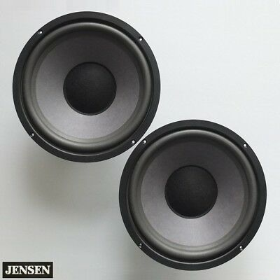 """vintage JENSEN 10"""" woofers with new surrounds—LS-4b 3b and others, c.1980—superb"""