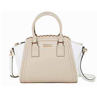 KATE SPADE Leather Lilac Road Small MARGUERITE Satchel Crossbody Bag • NWT