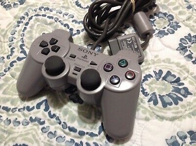 Sony PlayStation 1 DualShock Controller PS1 Analog Official SCPH-1200