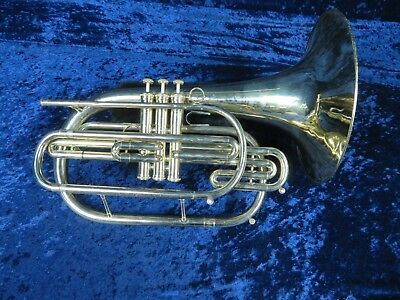 Dynasty Bb Marching Mellophone Ser#C5812 Nice Player with a Big Sound