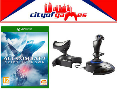 Ace Combat 7 Skies Unknown Xbox One & T.Flight HOTAS Joystick For Xbox One