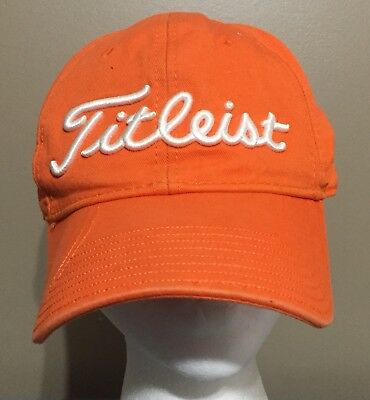 57ec59563af ... france clemson tigers titleist hat adjustable orange and white college  football 8dca2 0da02