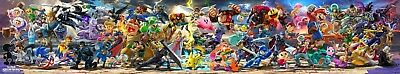 "2018 Game Super Smash Bros. Ultimate Banner Poster HD Print 8x43"" 12x65"" 18x97"""