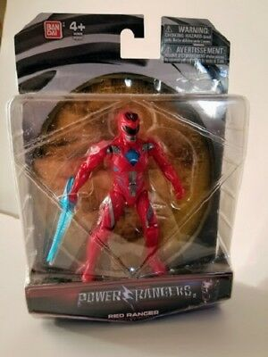 Power Rangers Mighty Morphin Red Ranger Action Figure Toys 2017 Movie Bandia