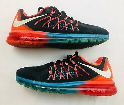 d61eab6b452892  190 NIKE AIR Max 2015 Black 698902-001 Running Shoes Men Us 9.5 M ...