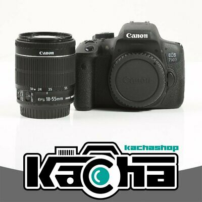 NUEVO Canon EOS 750D DSLR Camera + EF-S 18-55mm f/3.5-5.6 IS STM Lens Kit