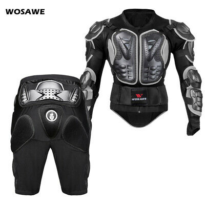 Motorcycle Body Protective Bike  Armour Jacket Shorts Hip Chest Guards Motocross