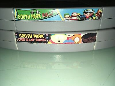 Nintendo N64 Game Lot SOUTH PARK Rally and Chef's Luv Shack