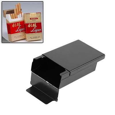 Black Tobacco Cigar Holder Cigarette Case Aluminum Pocket Box Container Pack KI