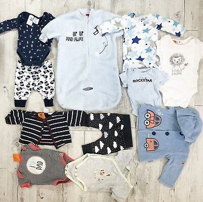 Baby Boys 0000 NB Bulk Lot
