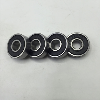High Quality 10X 608-2RS Ball Bearing 8x22x7 Two Rubber Sealed Chrome Skateboard