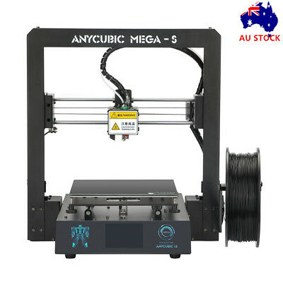 AU Stock ANYCUBIC Mega-S Upgrade 3D Printer with Extruder Ultrabase PLA /TPU/ABS