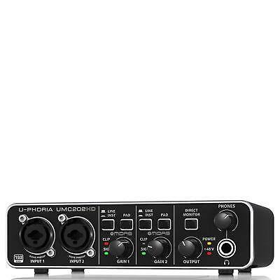 BEHRINGER U-PHORIA UMC202HD, 2-Channel