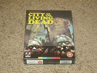 City of the Living Dead Limited Edition Blu-ray Arrow Video Region B - RARE OOP