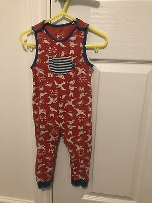kite baby dungarees, size 9-12 months
