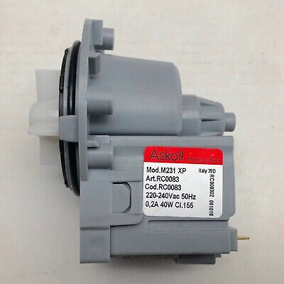 Fisher & Paykel Wash Smart Washing Machine Water Drain Pump WH8560P2 93254-A