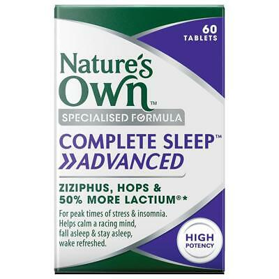 Nature's Own Complete Sleep Advanced 60 Tablets for Stress and Insomnia