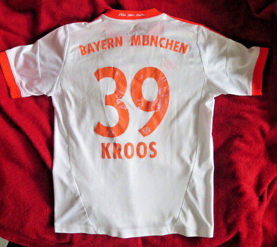 TONI KROOS ADIDAS Fußball Trikot Clima Cool Gr.140 world cup champion size=S