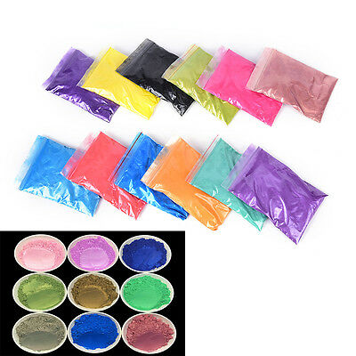 50g Cosmetic Grade Natural Mica Pigment Soap Candle Colorant Dye AGUK