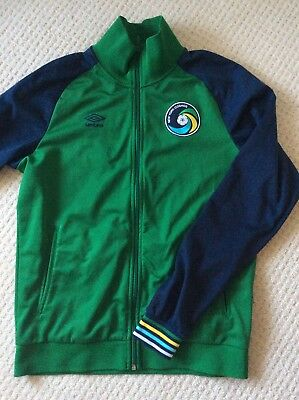 Umbro New York Cosmos Jacket Retro Sport Soccer Size L