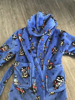 Boys 9-12 Month Dressing Gown From Next
