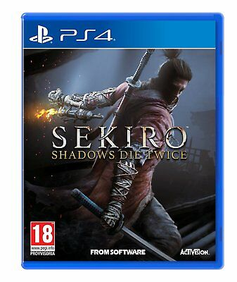 PREORDINE 22 MARZO 2019 SEKIRO SHADOWS DIE TWICE per Playstation 4 PS4 22/03/19
